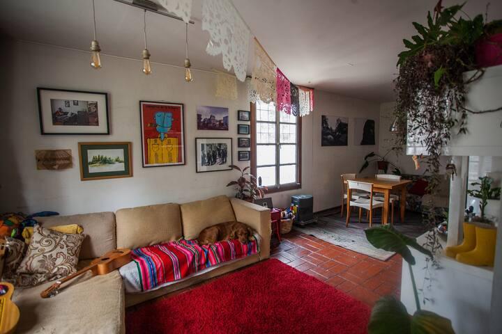 Pieza en Barrio Patrimonial Yungay