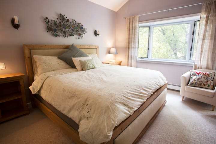 Escape to the serenity of your master suite with bay window and junior balcony