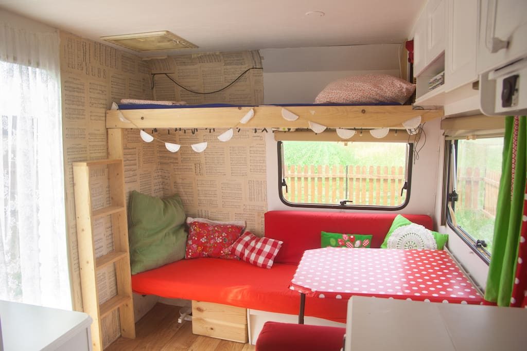 Bunk bed for a child up to 12 years.