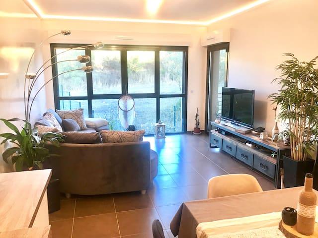 Appartement T3 zen et chaleureux à Aix en Provence
