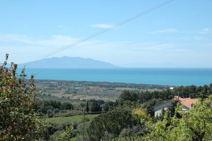 Casa con vista a San Vincenzo