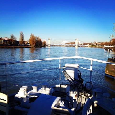 Houseboat near Paris ! - Alfortville - Bateau