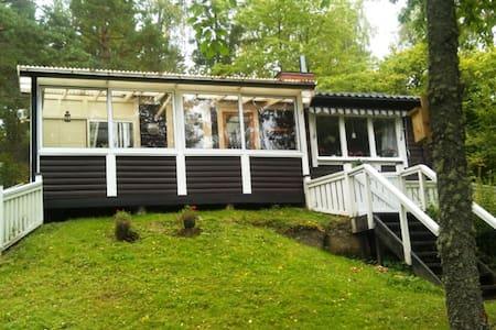 Cottage by the lake # boat#Tranås - Tranås NO - Sommerhus/hytte