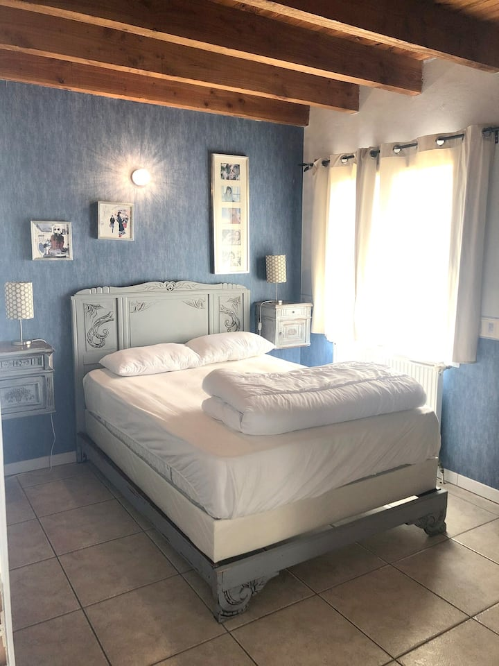 House with 2 bedrooms in Saint-Géry, with wonderful mountain view, shared pool, furnished garden