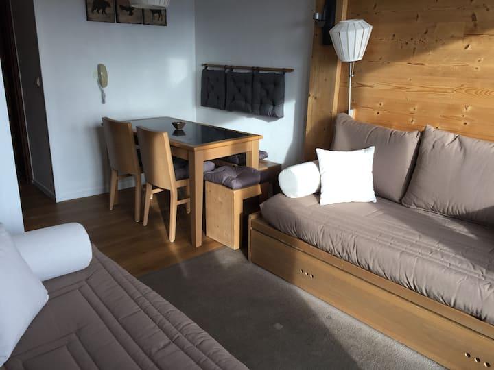 Appartement 5 personnes, plein centre, Alpe d'Huez