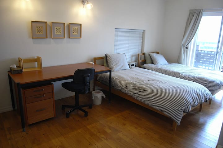 THREE Bright Comfortable Rooms・1 Hour to Shinjuku - Machida-shi - House