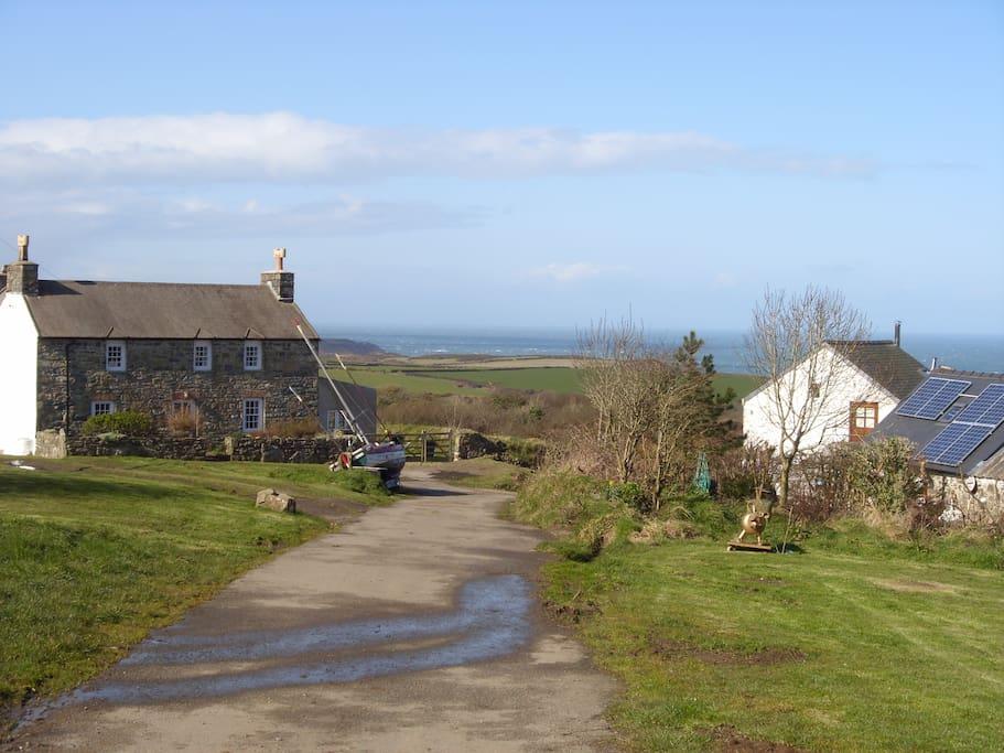 Llanwnda hamlet