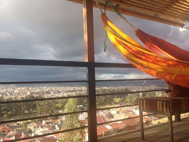 Glamping Cuenca  Bella vista Montañita Eco-resort
