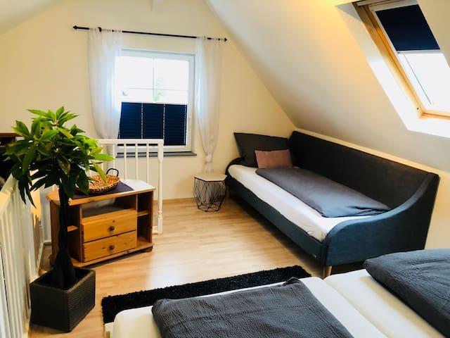 Apartment m.Terrasse Kassel-Calden Hunde auf anfr.