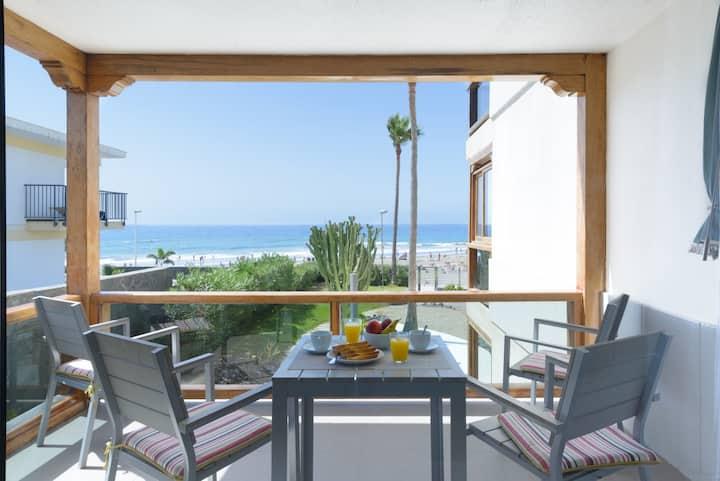 ¡El apartamento perfecto en la playa!