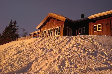 Hytte med flott utsikt! Ski in - ski out! - Rena