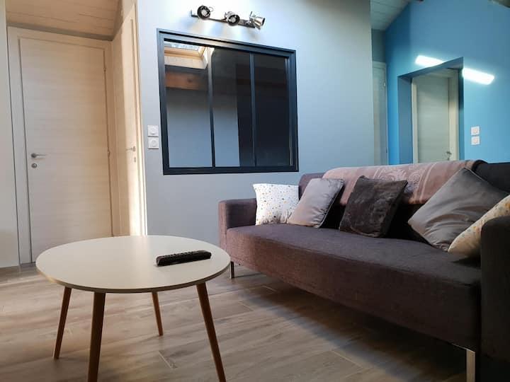 Appartement dans Les Alpes entre stations et ville