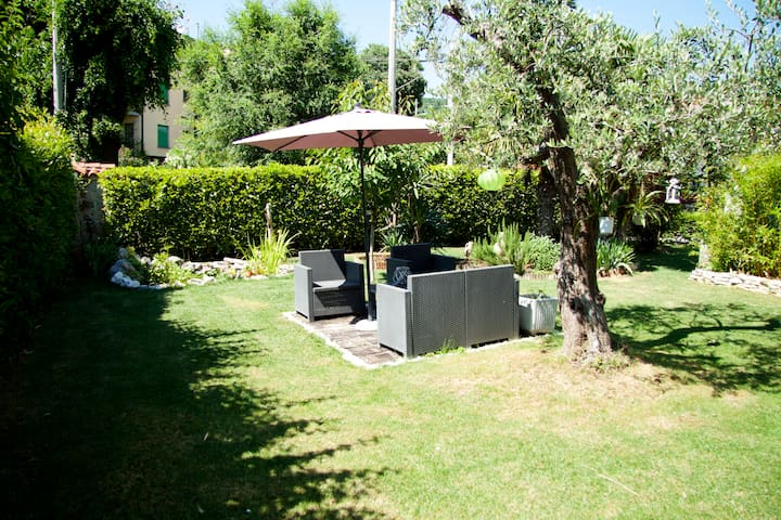 Trieste, flat with garden in Duino