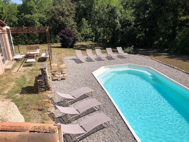 Villa piscine privée au coeur du Luberon