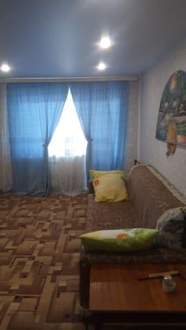 Чистая квартира со всеми удобствами.
