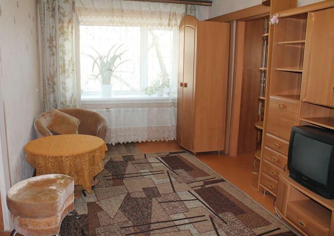 Уютная 2-комнатная квартира для 4 командировочных - Khabarovsk - Appartement