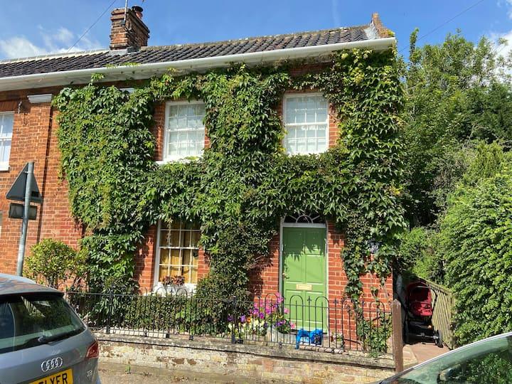 Norfolk retreat, Georgian Village Grade 2 listing