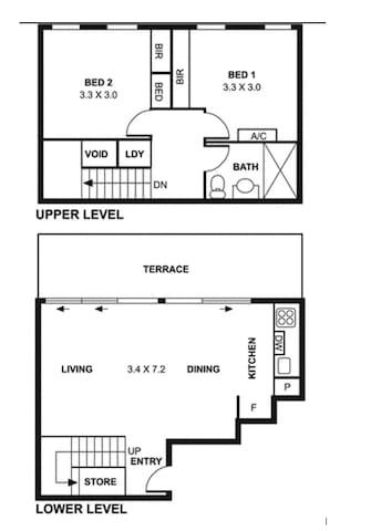 DUPLEX Ultimate CBD Laneway Living!