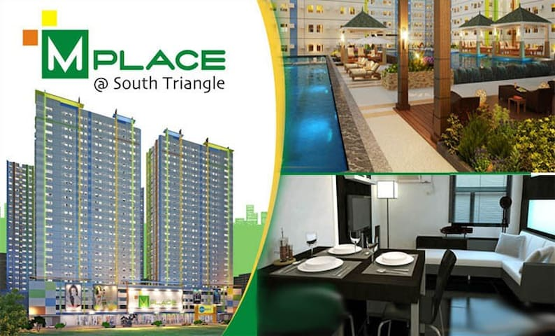 1BR Fully Furnished/ Mplace @ South Triangle, Q.C - Quezon City - Kondominium