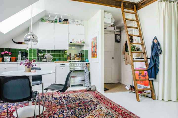 Attic studio apartment - Estocolm