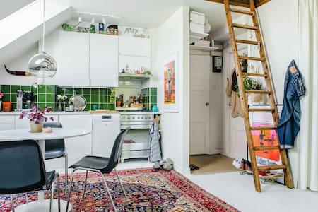 Attic studio apartment - 스톡홀름 - 로프트