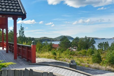 5 star holiday home in Lysøysundet