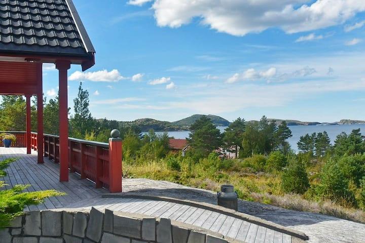 5 star holiday home in Lysøysundet