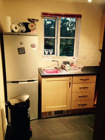 Lovely spacious bedroom - Camberley - Flat