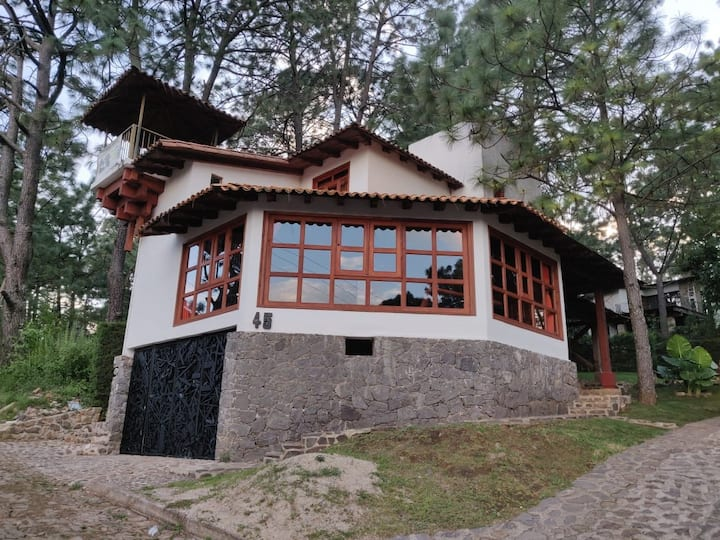 Hermosa cabaña en Mazamitla Jal