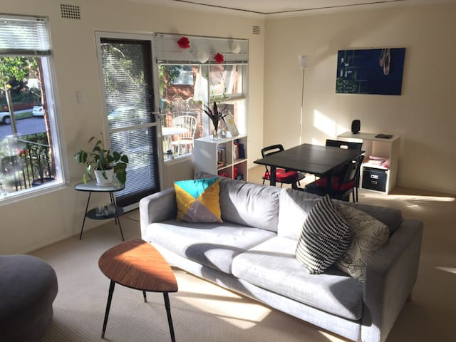 Charming flat in idyllic Waverton, close to CBD - Sydney - Apartment
