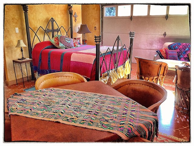 Jimmy Buffet meets Frida Kahlo at  La Bodega Casa.