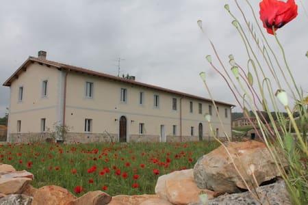 Casale immerso nella natura  della Toscana - Civitella Paganico - บ้าน