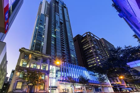City Apartment With a View in 4.5 Star Hotel - Brisbane City - Διαμέρισμα