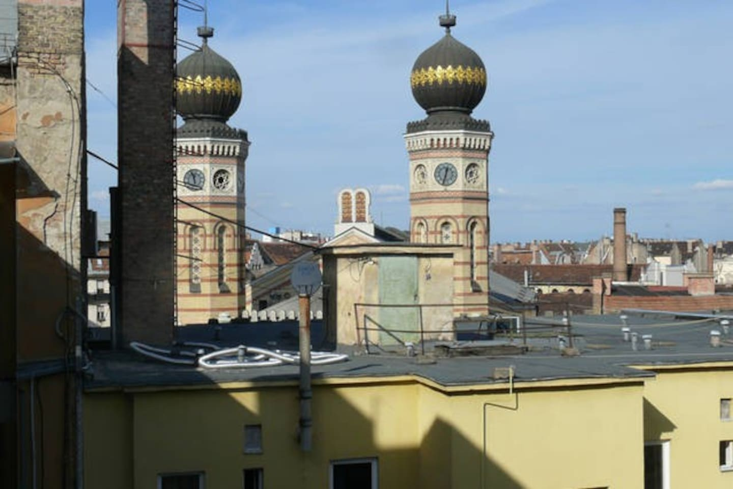 View from the flat, the Synagogue
