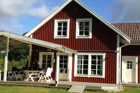 Summerhouse for families on the island Bolmsö