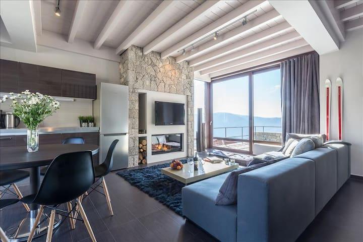 White Hills luxury villa D - Arachova - Villa