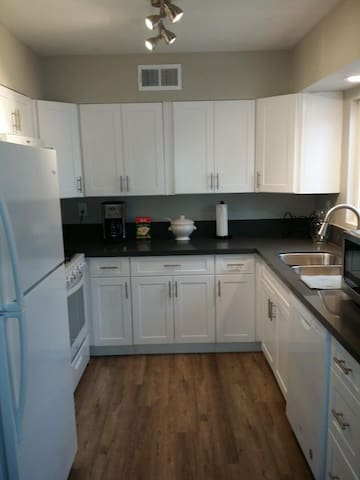 Kitchen is newly renovated