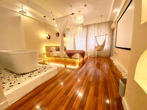 理想主题酒店式公寓(哈西客站、万达广场店)