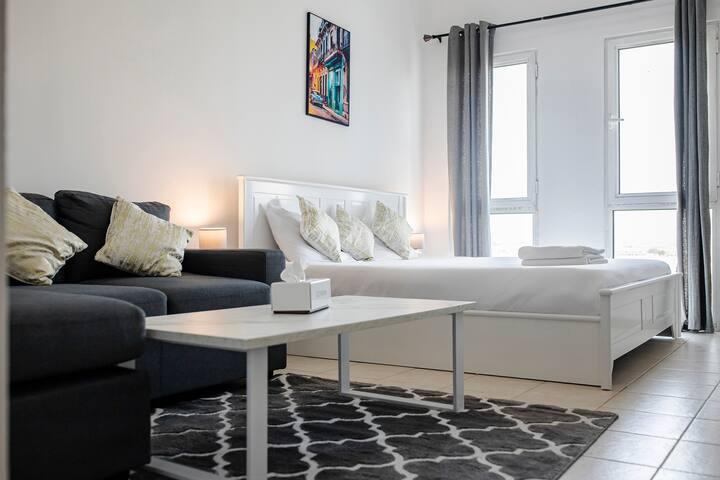 Spacious Studio Apartment @DG (7)