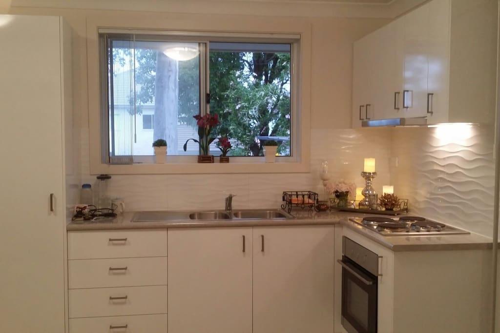 Full kitchen facility