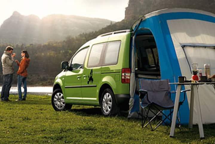 Tramper VW Caddy | Crete | LunaTrips GR Network