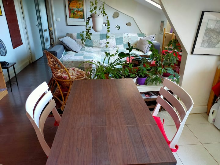 2 rooms flat Clichy Levallois
