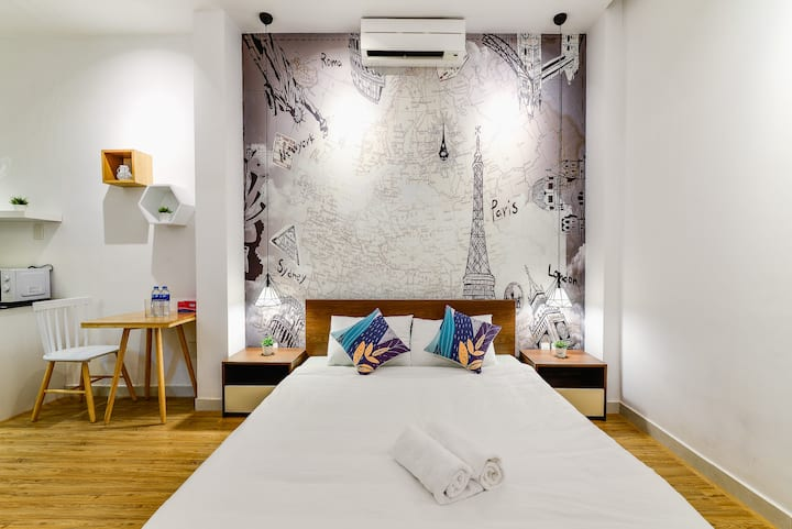 BenThanh Market 2min walk⭐ Fully equipped Studio1