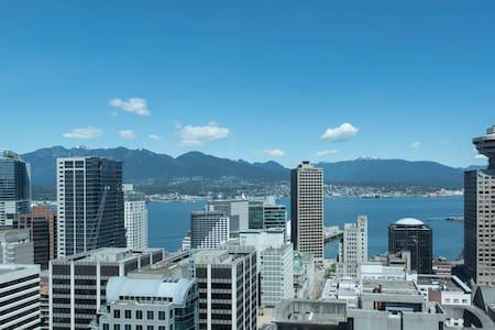 CENTRAL DOWNTOWN SKY VIEW SUITE - Vancouver - Condominium