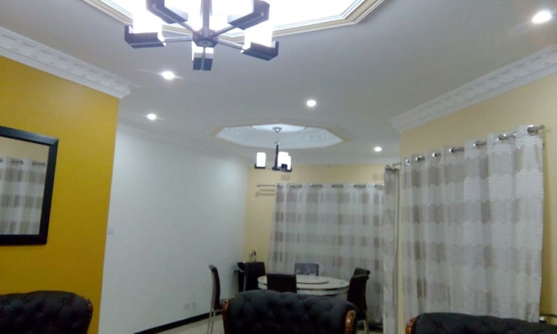 Common living and dining space