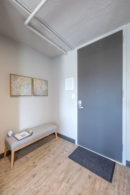 Entry area.