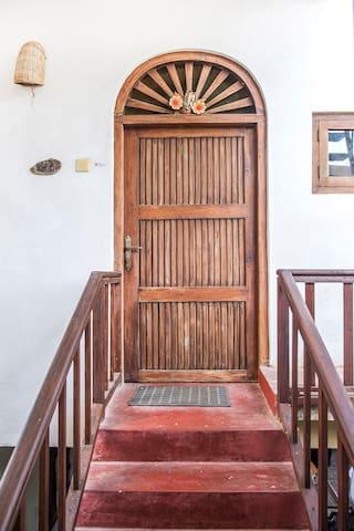 Door to the apartment