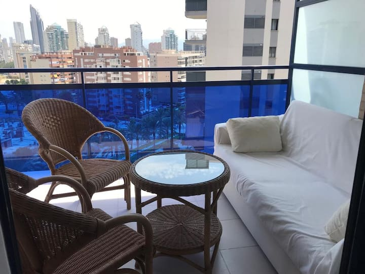 Modern apartment_View_WiFi_Parking_Beach_SMART TV