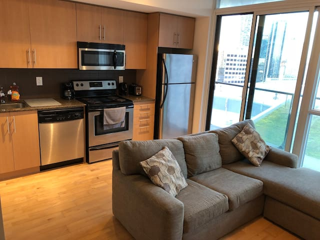 Luxurious Downtown Condo in Prime Location