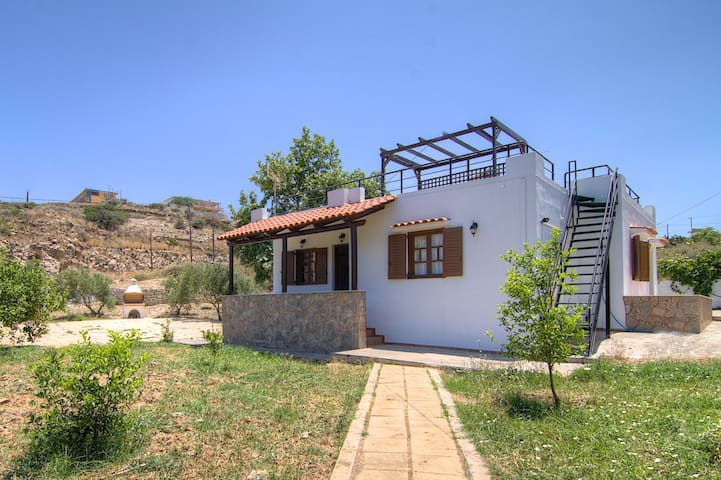 Effie's Cottage - 150m from beach! - Panormos - Casa